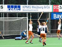 image: Tilburg hockey dames winnen van HDS