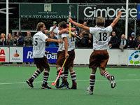 images: Tilburg Hockey heren winnen van Kampong