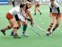 image: Hockey Dames Tilburg tegen Alphen