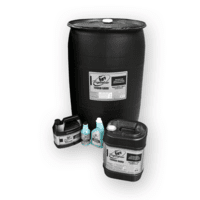 Family of TOUGH GARD anti-spatter liquid packaging/containers
