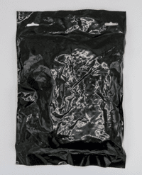 Image of back of old Tregaskiss black and clear bags