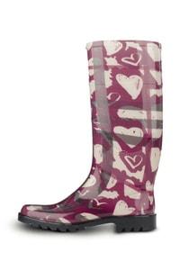 Nova Painted Haert Rain Boots