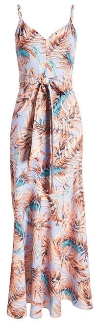 Sam Edelman twist strap maxi dress | 40plusstyle.com