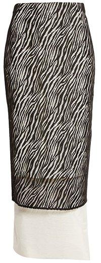 BOSS Vezra Lace Overlay Skirt   40plusstyle.com