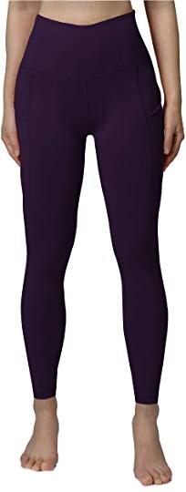 Tummy control leggings: ODODOS high waist yoga pants | 40plusstyle.com