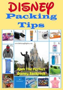 Walt Disney World Packing Tips