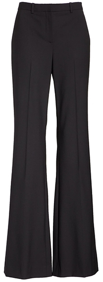 Wardrobe essentials - Theory wool suit pants   40plusstyle.com