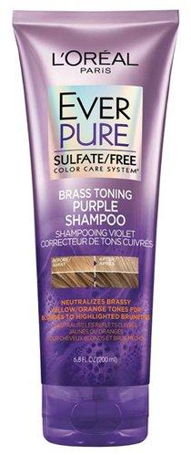 L'Oréal Paris Hair Care EverPure Sulfate Free Brass Toning Shampoo   40plusstyle.com
