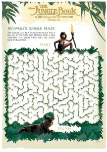Jungle Book Activity Sheets