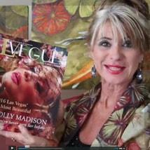 Artist Beti Kristof in LVegue magazine 2016