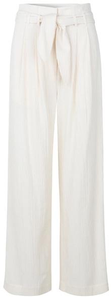 Samsøe Samsøe belted trousers | 40plusstyle.com