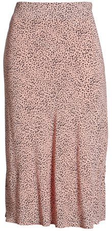 Rails print midi skirt | 40plusstyle.com