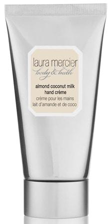 best handcream - Laura Mercier Almond Coconut Hand Crème   40plusstyle.com