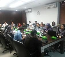 Suasana rapat Tim AKIP Sekretariat Kabinet, Selasa (23/10)