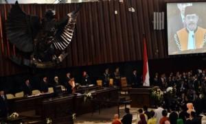 Pelantikan anggota DPR-RI periode 2014-2019