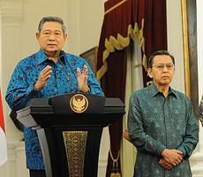 Presiden SBY didampingi Wapres Boediono