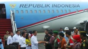 Pesawat Jokowi