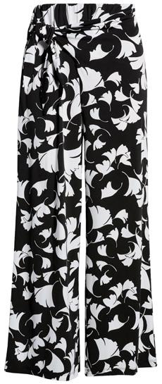 Chaus side tie wide leg pants | 40plusstyle.com