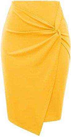 Kate Kasin pencil skirt | 40plusstyle.com