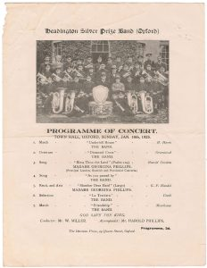 1925 Programme
