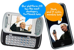 ballmer vs jobs: mobile (and/or) browser war (from iphoneblog.com)