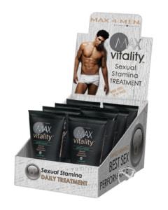 Male stamina enhancement supplement