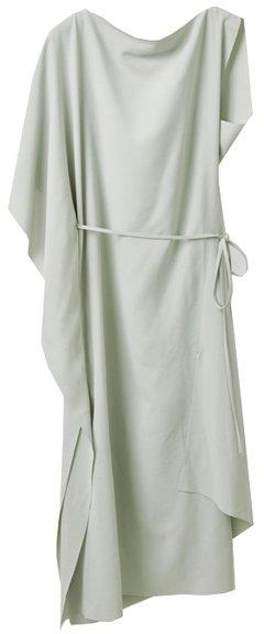COS draped dress   40plusstyle.com