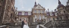 Plener ślubny na zamku w Mosznej 37