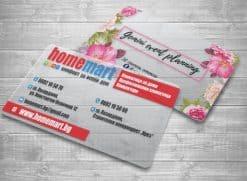 Прозрачни визитки печат и изработка