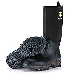 rubber boots for concrete work