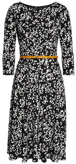 Harper Rose belted fit & flare dress   40plusstyle.com