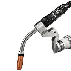 Image of Tregaskiss TOUGH GUN CA3 robotic MIG gun with 45 degree neck