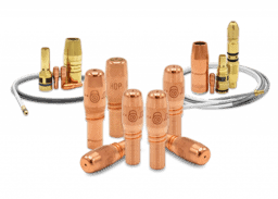 Acculock S and R Consumable family share a common contact tip