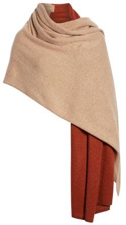 halogen cashmere wrap | 40plusstyle.com