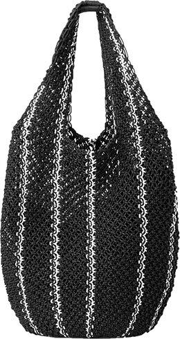 COS Crochet Shopper Tote | 40plusstyle.com