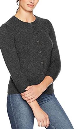 Lark & Ro cashmere sweater | 40plusstyle.com