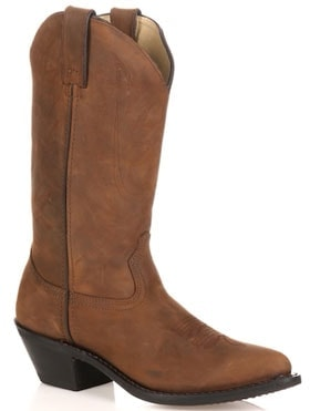 Kohl's Durango classic cowboy wide calf boots | 40plusstyle.com