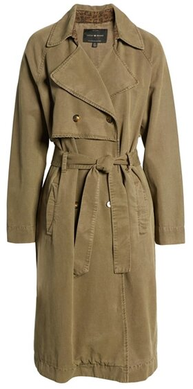 Lucky Brand The Relaxed Trench Coat   40plusstyle.com