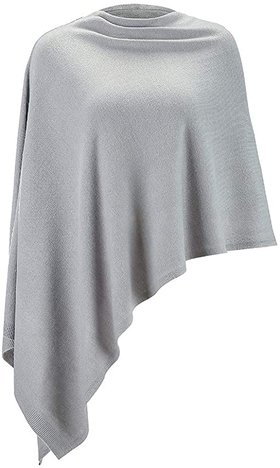 Poncho sweater | 40plusstyle.com