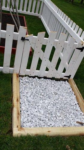 garden fence gate | ASimpleHomestead.com