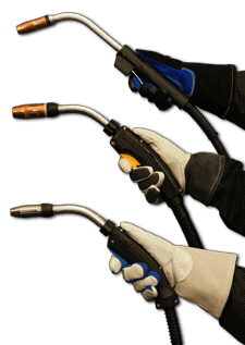 Image of three Bernard BTB MIG Guns