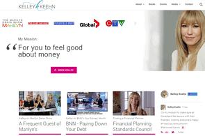 Wordpress Website developed by Electric Villages for Kelley Keehn