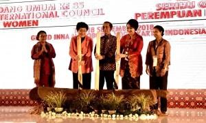 President Jokowi at Grand Inna Malioboro Hotel, Yogyakarta, Friday (14/9). (Photo by: BPMI).