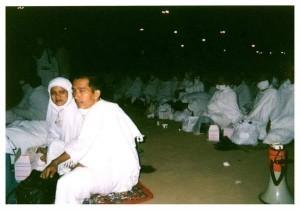 President Jokowi and First Lady Ibu Iriana on the hajj pilgrimage 15 years ago (Photo: President Jokowi's Facebook Page)