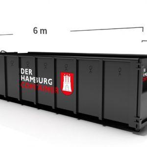 Container mit 18 Kubikmeter