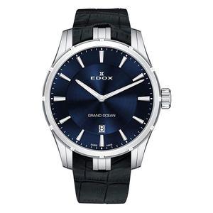 Edox horloge 56002-3C-BUIN quartz zwart