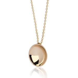 Miniplanet-kjede i gull