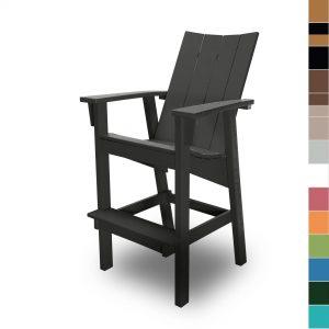 Bar Height Chair - Color Blocks - HHHDC1