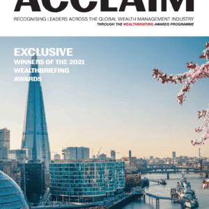Acclaim WealthBriefing_Recordsure Solves Wealth Management Compliance Problems