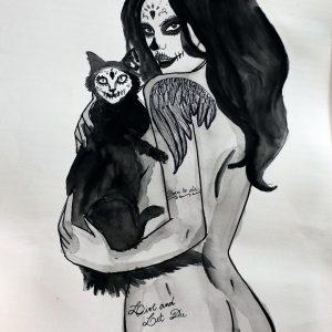 Tela: Viva Los Muertos Artista: Monique Nunes